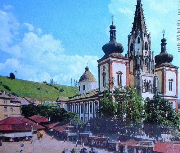 Mariazell 1985 und seither immer wieder unser Ziel