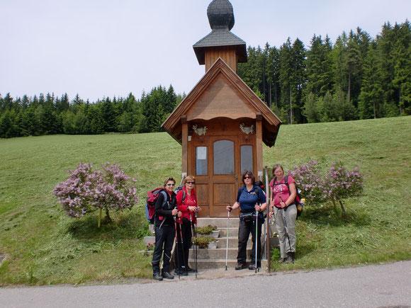 So kleine Kapellen gibt es in Kärnten immer wieder