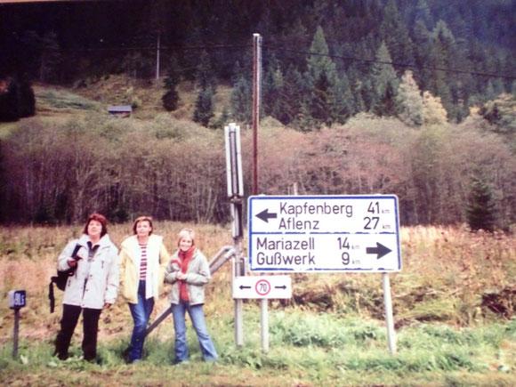 In einem Tag über Siegmundsberg nach Mariazell