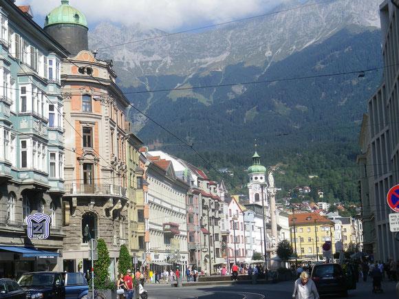 Innsbruck schau ich mir vor her jedoch an und geniese die ansichten in dieser wunderschönen Alpenstadt..