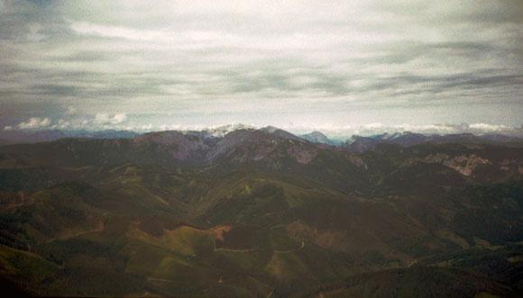 Ein Blick in die Bergwelt der Obersteiermark