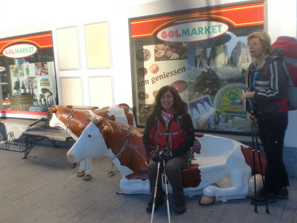 Am frühen Vormittag sind wir in Niederndorf