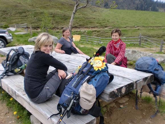 Bei der Grillitschhütte gibts a guate Jausn