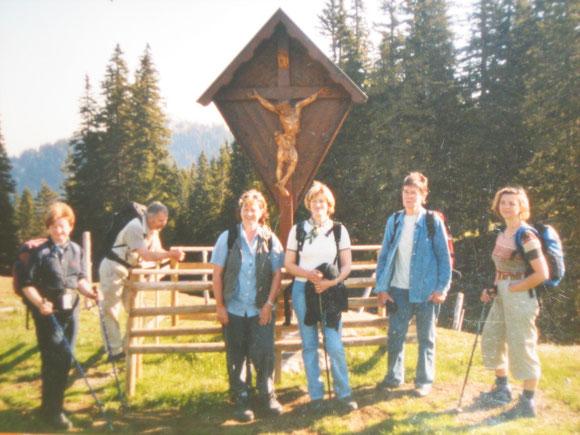 Das war 2004. Einmal nur einen Tag auf Maria Zell zugehen.