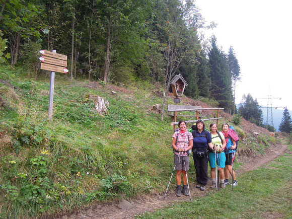 Unterwegs in Richtung Brennerpass