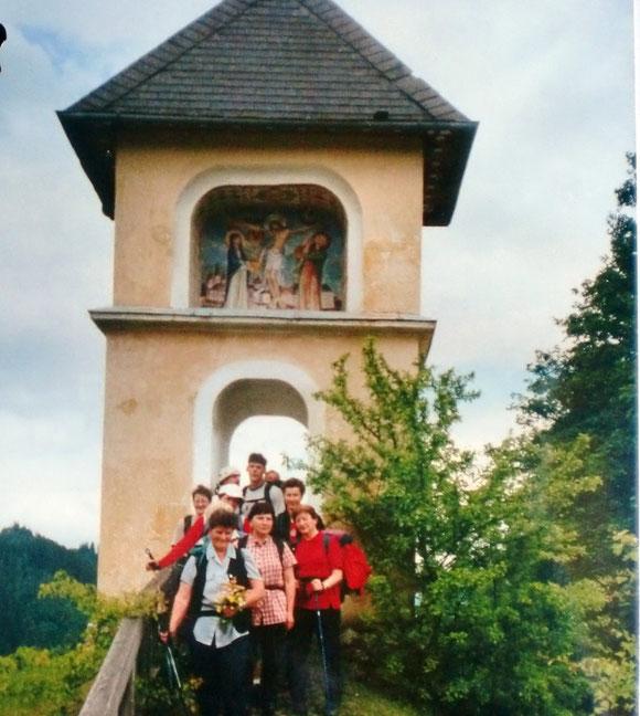 Das Pilgertor in Mariazell. Ankunft 2002