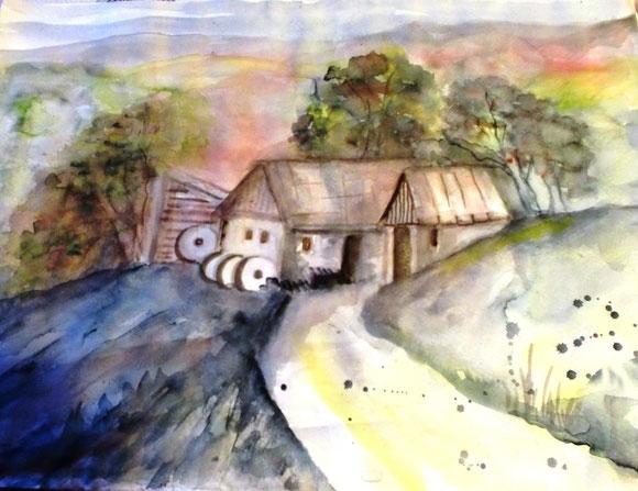 Inspiration aus dem Mühlvirtel.Alte Mühle