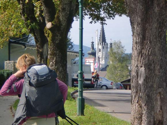 Ankunft in Mariazell 2010 .hoffentlich wars nicht das letzte Mal.
