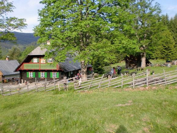 Trahüttner Hütte erreicht