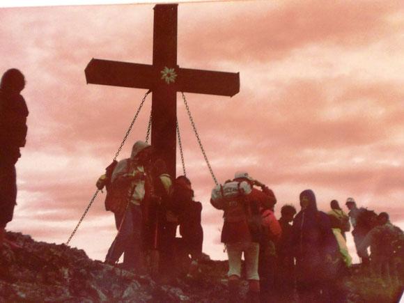 Juni 1992 mit der Pfarre St. Martin am Hochveitschgipfel