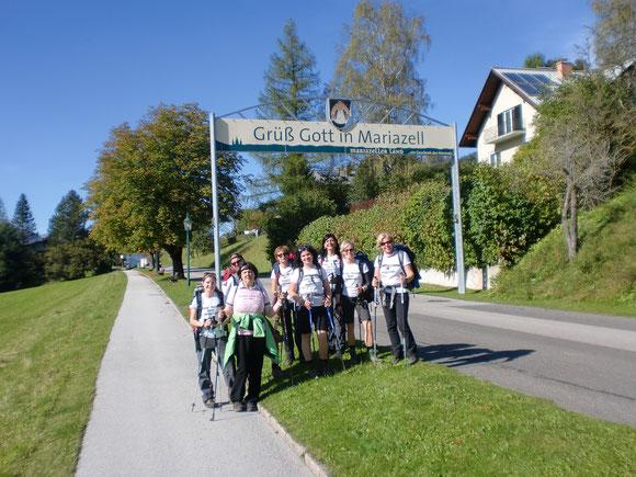 Ankunft im Mariazell 2014