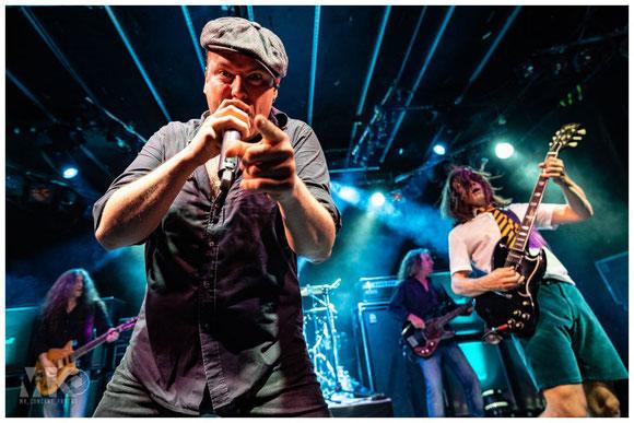BAROCK AC/DC tribute show Hirsch Nürnberg 2019 ausverkauft Marcel Kahner mk-concert-photos