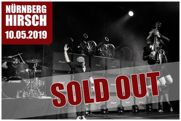 BAROCK AC/DC tribute Hirsch Nuernberg Ausverkauft 2019