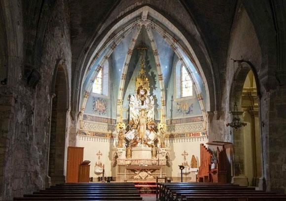 Гимера - интерьеры приходской церкви