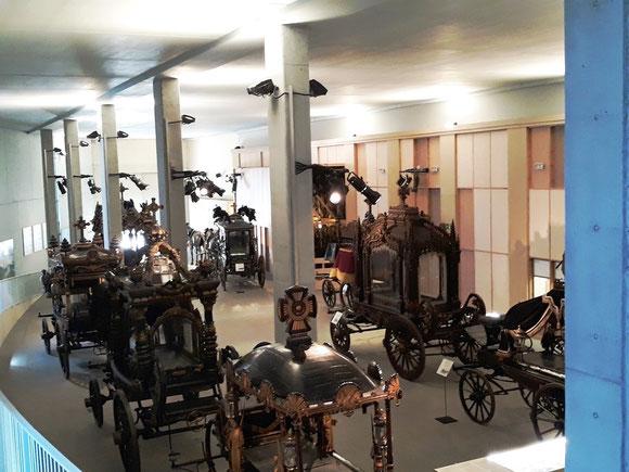 Музей похоронных экипажей в Барселоне