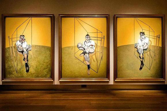 Три наброска к портрету Люсьена Фрейда - самые дорогие картины в мире