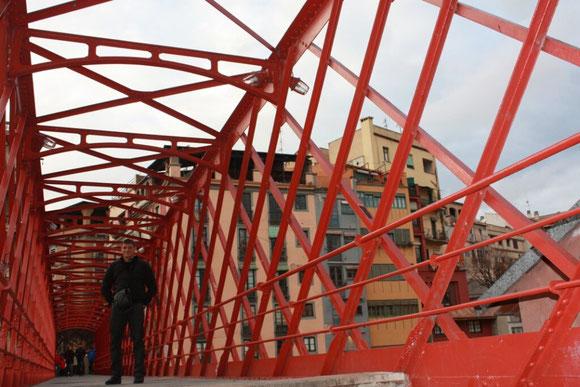 Мост густава Эйфеля в Жироне