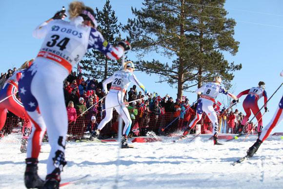 3月は冬の終わりを感じ始める頃。ノルウェー人は最後のスキーを楽しむ Photo: Asaki Abumi