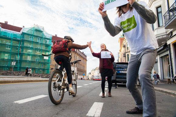 自転車乗りのためのよりよい街づくりを目指すオスロ Photo: Asaki Abumi