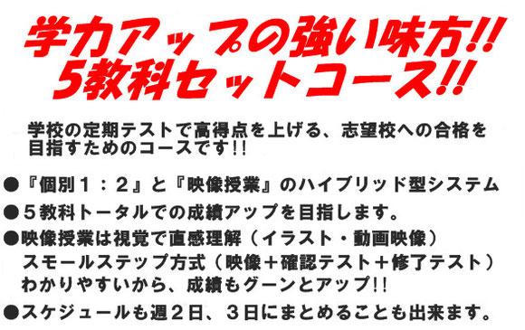 東大阪市の学習塾 個別指導塾ブレイン 中学生
