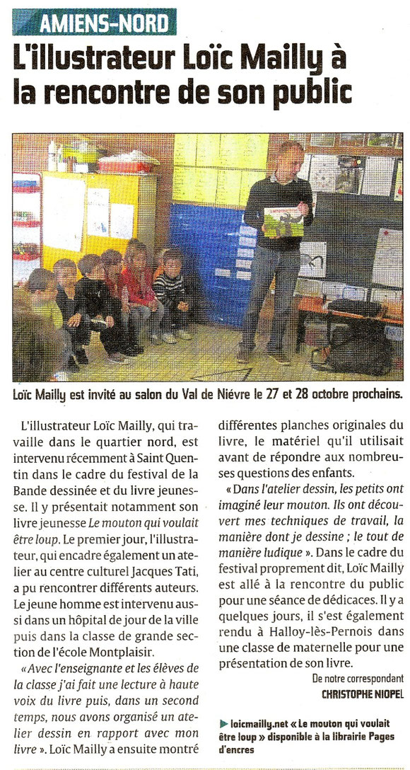 Article courrier picard