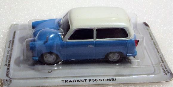 Trabant P 50 Kombi,Atlas, Altaya,1:43