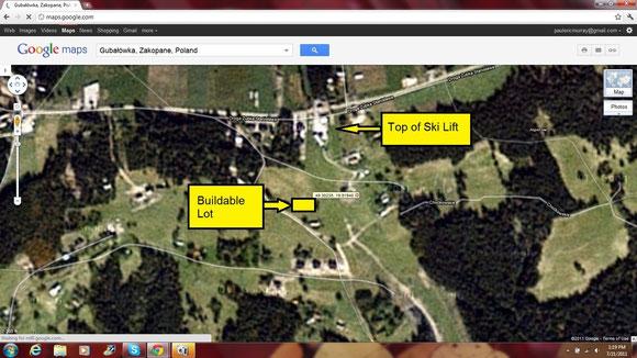 Satellite View via Google Maps