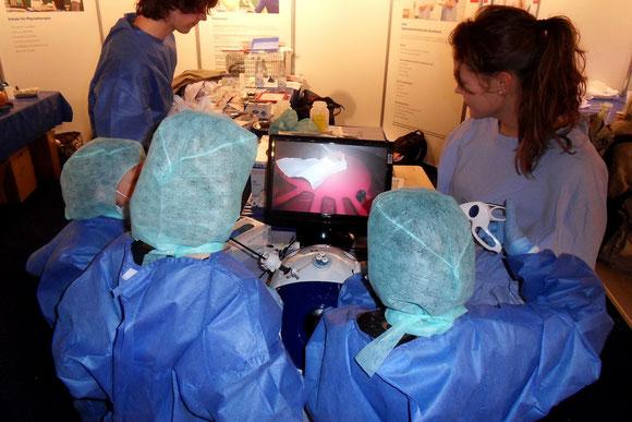 Minimal invasive Magenoperation