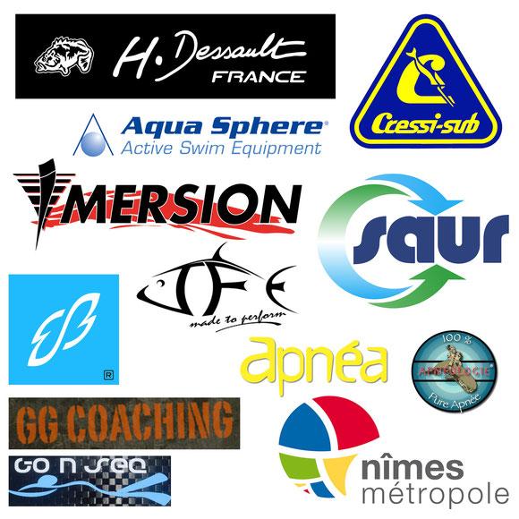 Partenaires de la Coupe des Plongeurs Libres 2014