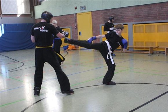 Kampfsport - Kickboxen - München - Trainingsplan
