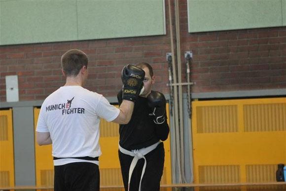 Kampfsport Kickboxen München