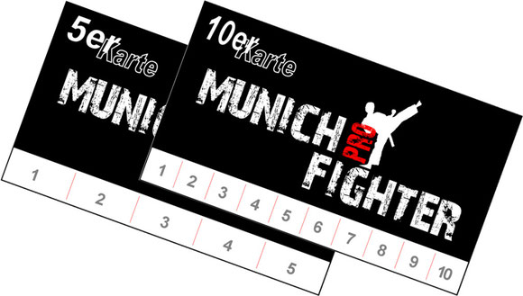 Pointfighting Kickboxen - 5er 10er Karte