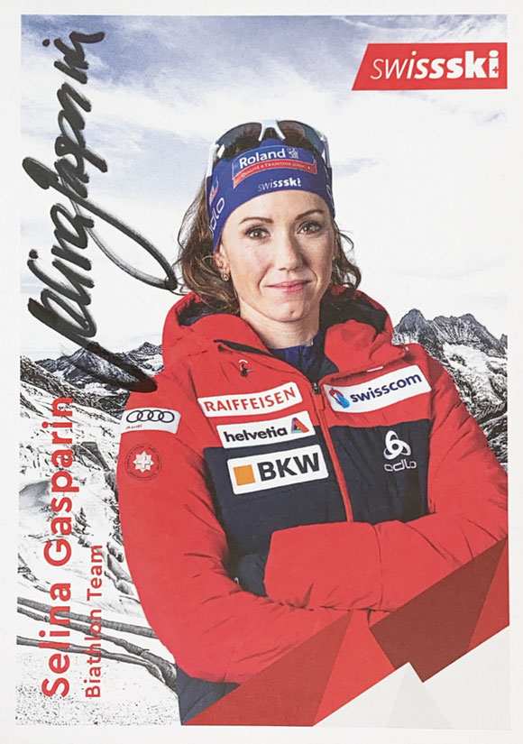 Autograph Selina Gasparin Autogramm