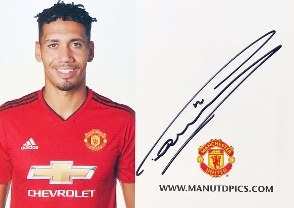 Autograph Chris Smalling Autogramm