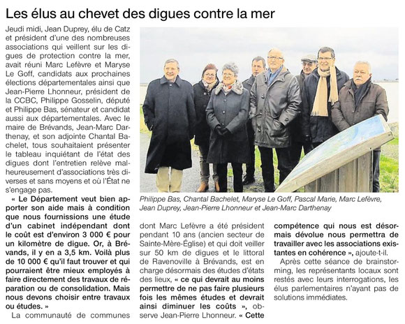 Ouest-France, 09.02.2015