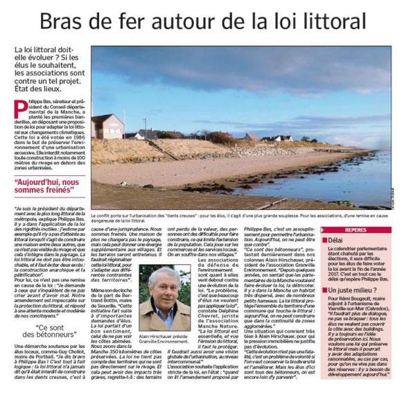 La Manche Libre, 23.03.2017