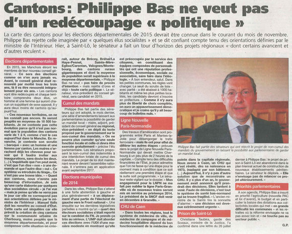 Presse de la Manche, 02.10.2013