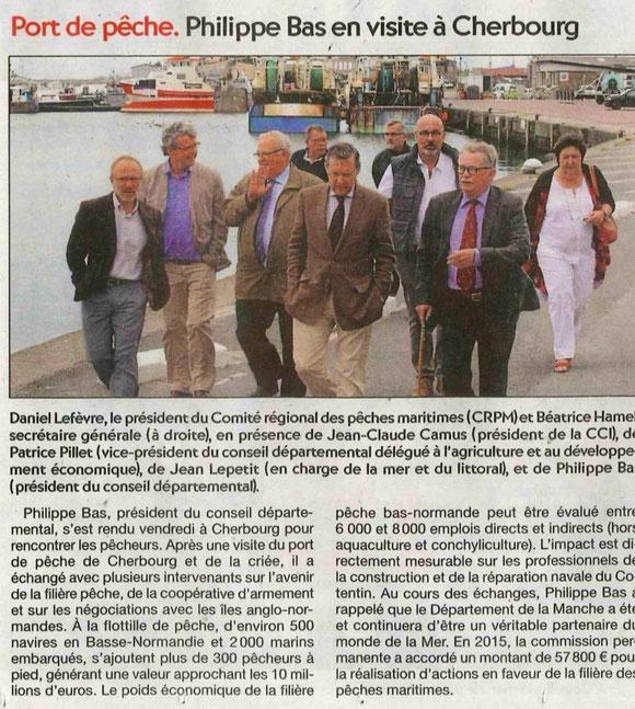 Presse de la Manche, 20/07/2015