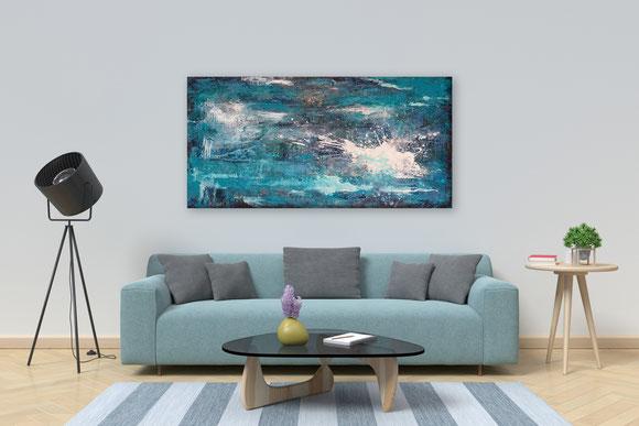 Acrylbild 50 cm x 100 cm