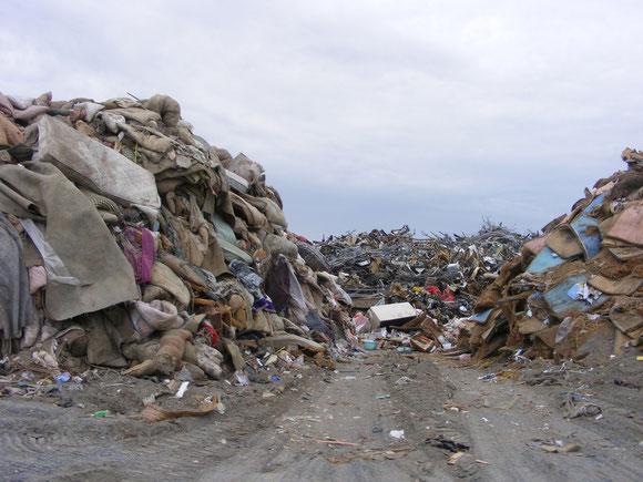 東日本大震災 瓦礫処理は有機資源の再利用を