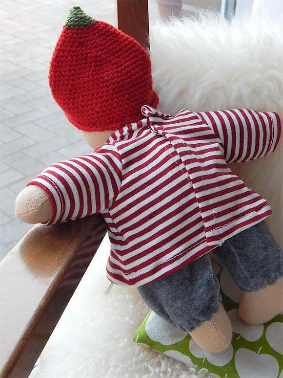Bio-Stoffpuppe, erste Puppe, Puppenhandwerk, Schlamperle, Waldorfart, Wunschpuppe, handgefertigt, individuelle Puppe passend zum Kind, Jennifer Kliem-Pärsch, Puppe nach Wunsch, Erstlingspuppe, ökologische Kinderpuppe, handgemachte Stoffpuppe, ökologisch