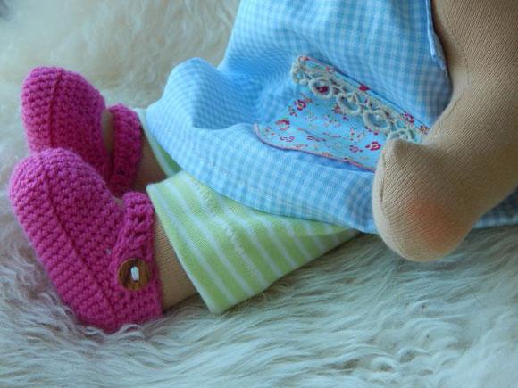Stoffpuppe, handgemacht, Bio-Stoffpuppe, Handarbeit, Waldorfpuppe, cloth doll, Steiner doll, Sommerpuppe, Puppenhandwerk Pärsch, Puppenhandwerk, Pärsch, individuelle Wunschpuppe, Wunschpuppe