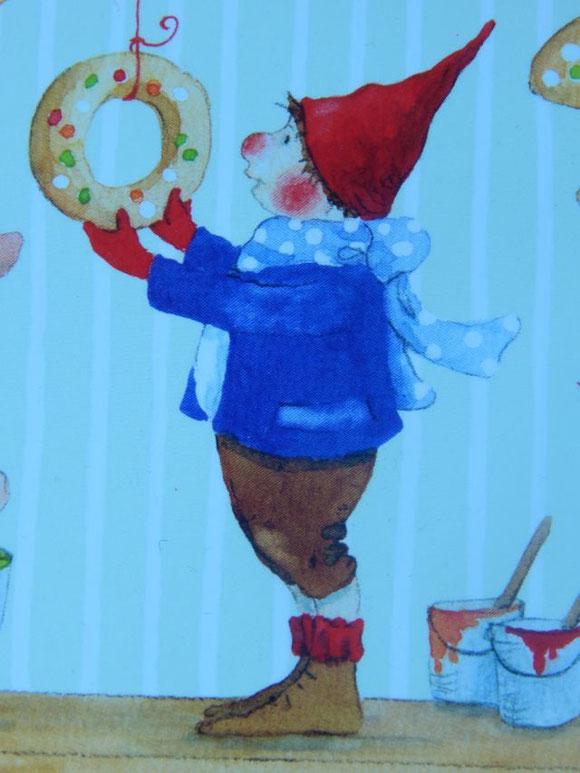 Daniela Drescher, Pippa und Pelle, Weihnachtspostkarte, Grätz Verlag