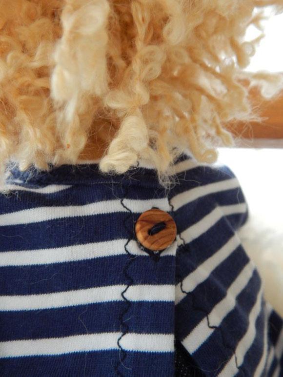 Stoffpuppenjunge, Puppenjunge, Waldorfpuppe, handgemacht, Handarbeit, steiner doll, cloth doll, handmade