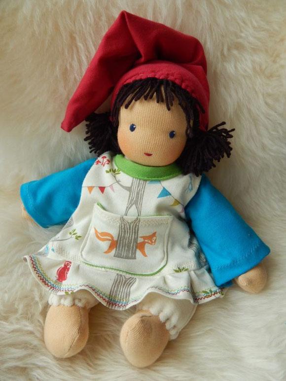 Schlamperle, Waldorf, Birch Fabrics, waldorf cuddle doll, Steiner, Ostheimer