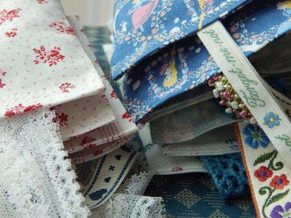Lavendelsäckchen, handgenäht, Handarbeit