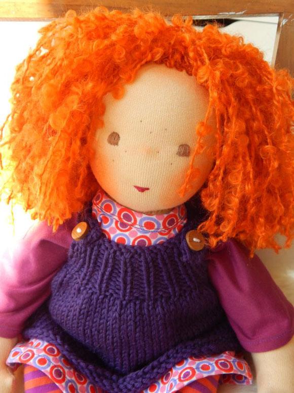 Puppenbaby, Stoffpuppe, handgemachte Stoffpuppe, Handarbeit, handgemacht, handgefertigt, Puppenhandwerk, Pärsch, Waldorfpuppe, Rudolf Steiner Puppe,  cloth doll, companion doll,