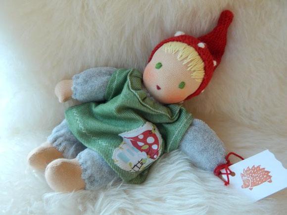 Bästis, Bästi, Schlamperle, Waldorf, Waldorfpuppe, Waldorfart, cuddle doll, companion doll, Steiner, Kuschelpuppe