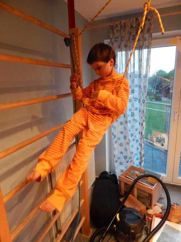 Pyjama aus dem wunderschönen, dicken Lebenskleidungs-Strickfrottee