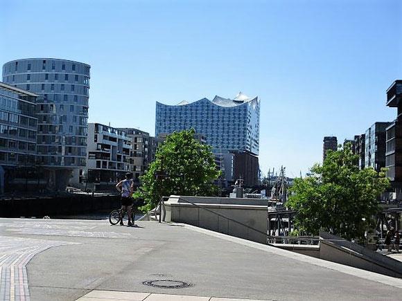 Alster, Hamburg, Elbphilharmonie, Elphi
